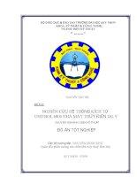 Nghiên Cứu Hệ Thống Kích Từ Unitrol 6800 Nhà Máy Thủy Điện Ialy