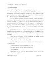 CHUYÊN ĐỀ 4: SINH SẢN Ở THỰC VẬT