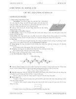 chuyên đề 2: Sóng cơ ôn thi THPT Quốc gia môn vật lý