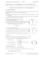 chuyên đề 4  dao động và sóng điện từ Ôn thi THPT Quốc Gia môn vật lý