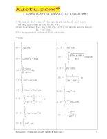 333 bài toán tích phân 14 trang