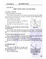 Ôn tập và kiểm tra vật lý 9 (tái bản lần thứ hai) phần 2