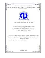THỰC TẬP NGHIỆP VỤ HÀNH CHÍNH VĂN PHÒNG tại tạp chí của Liên hiệp các Tổ chức Hữu nghị Việt Nam
