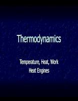 bài giảng vật lý bằng tiếng anh thermodynamics