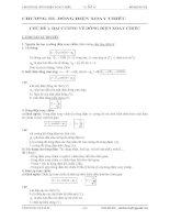 chuyên đề 3:  dòng điện xoay chiều Ôn thi THPT quốc gia môn Vật lý