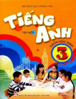 Bài giảng tiếng anh lớp 3 mới unit 4 how old are you