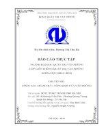 Công tác tham mưu và Tổng hợp của Văn phòng Sở Tư pháp Thành phố Hà Nội