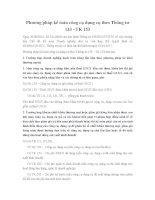 Phương pháp kế toán công cụ dụng cụ theo Thông tư 133 - TK 153
