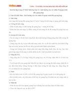 Giải bài tập trang 47 SGK Sinh học lớp 11: Ảnh hưởng của các nhân tố ngoại cảnh đến quang hợp