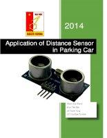 cảm biến siêu âm sensor RF05