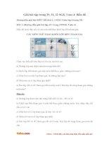 Giải bài tập trang 29, 31, 32 SGK Toán 4: Biểu đồ