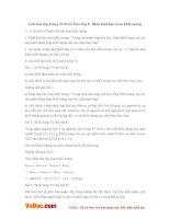 Giải bài tập trang 54 SGK Hóa lớp 8: Định luật bảo toàn khối lượng