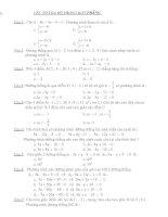 trắc nghiệm hình học giải tích 12