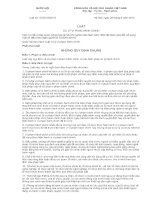 Tài liệu ôn tập tuyển dụng công chức Kho bạc Nhà nước năm 2016 LUẬT XỬ LÝ VI PHẠM HÀNH CHÍNH
