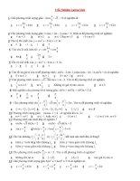 trắc nghiệm toán 12 chuyên đề lượng giác và khảo sát hàm số