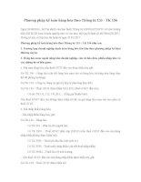 Phương pháp kế toán hàng hóa theo Thông tư 133 - TK 156