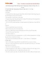 Giải bài tập trang 43 SGK Sinh học lớp 11: Quang hợp ở nhóm các thực vật C3, C4 và Cam