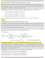 Rèn luyện phương pháp tiếp cận xác suất qua các bài toán hay