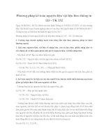 Phương pháp kế toán nguyên liệu vật liệu theo thông tư 133 - TK 152