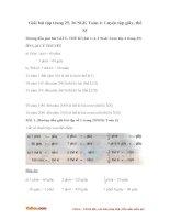Giải bài tập trang 25, 26 SGK Toán 4: Luyện tập giây, thế kỉ