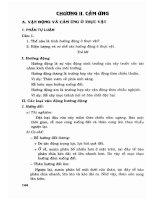 Câu hỏi tự luận và bài tập trắc nghiệm sinh học 11 nâng cao phần 2