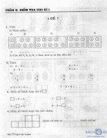 Đề kiểm tra học kỳ tiếng việt   toán lớp 1 phần 2
