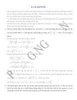 VL1 hướng dẫn giải một số bài tập e l chương 1