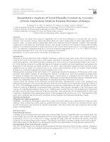 quantitative analysis of phenolic in avocado