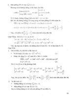 Giới thiệu và hướng dẫn giải chi tiết đề thi TSĐH khối d p4