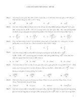 350 câu hỏi trắc nghiệm chuyên đề hình học không gian ôn thi THPT Quốc gia