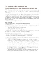 Đề Cương ôn tập Lịch Sử 12 chi tiết nhất