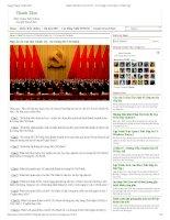 Đáp án 22 câu hỏi chính trị Tư tưởng Hồ Chí Minh