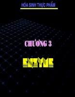 Chương 3 Enzym