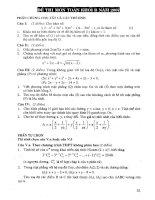 Giới thiệu và hướng dẫn giải chi tiết đề thi TSĐH khối d p2