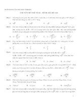800 câu hỏi và bài tập trắc nghiệm Chuyên đề Thể tích hình học không gian (có đáp án)
