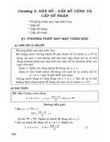 Tuyển chọn 400 bài tập đại số và giải tích 11 (tự luận và trắc nghiệm) phần 2