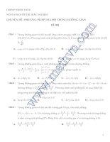 640 câu TRẮC NGHIỆM hình không gian oxyz có đáp án (toán 12)