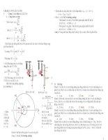 Lí thuyết và bài tập trắc nghiệm vật lí ôn thi đại học