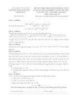 Toan 10_Vinh Phuc Đề thi (đề xuất) kỳ thi HSG các trường THPT Chuyên khu vực DH&ĐBBB lần thứ VIII, năm 2015