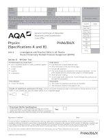 AQA PHA6B6X QP JUN14