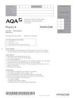 AQA PHYA52AR QP JUN15
