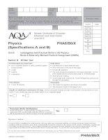 AQA PHA6B6X QP JUN13