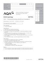AQA ANTH4 QP JUN15