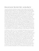 Phân tích bài thơ Đây thôn Vĩ Dạ của Hàn Mặc Tử