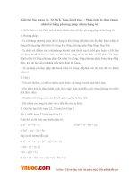 Giải bài tập trang 22, 23 SGK Toán lớp 8 tập 1: Phân tích đa thức thành nhân tử bằng phương pháp nhóm hạng tử