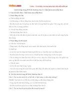 Giải bài tập trang 85 SGK Sinh học lớp 11: Tuần hoàn máu (tiếp theo)
