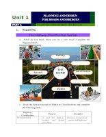 Bài giảng Tiếng Anh Chuyên ngành giao thông Đại học Công Nghệ GTVT (UTT)Unit 1part1