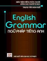 English grammar   ngữ pháp tiếng anh   NXB đại học sư phạm