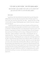 Tổng hợp các bài văn mẫu bài thơ đất nước của nguyễn khoa điềm Văn mẫu lớp 12  Bài 1