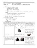 Giáo án hình học lớp 12 tiết 04